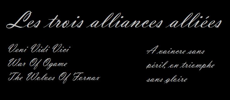 forum des trois alliances alliées  Index du Forum