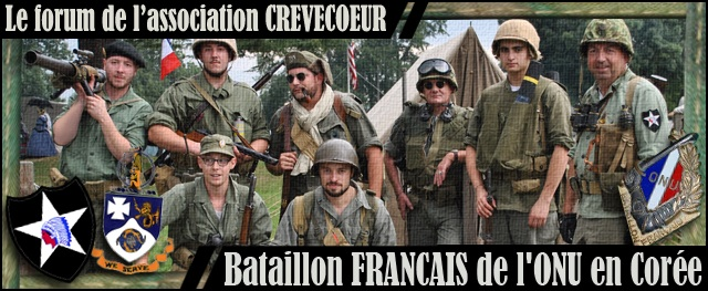 CREVECOEUR, Le Bataillon Français de l'ONU en Corée. (1950-1953) Image-426f0f1